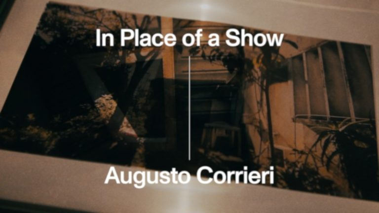 Ver In Place of a Show byAugusto Corrieri