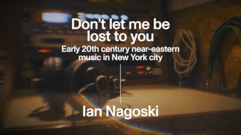 Ver Don't let me be lost to you by Ian Nagoski